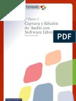 Captura y Edicion de Audio Con Herramientas Libres