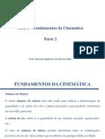 Fundamentos Da Cinemática - Parte 2