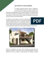 Por Qué Invertir en Casas Mazatlán