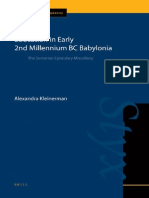 (Cuneiform Monographs, 42) Alexandra Kleinerman-Education in Early 2nd Millennium BC Babylonia _ the Sumerian Epistolary Miscellany-Brill (2011)