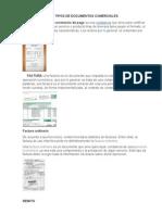 5 Tipos de Documentos Comerciales