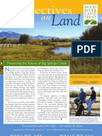 Spring Newsletter 2009