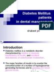 Diabetes Mellitus Patients