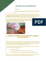 10 Formas de Financiar Una Nueva Empresa o Negocio (Negocios y Emprendimiento)