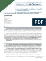 Conciliacion en Salud Laboral