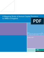 A Mapping Study of Venture Capital Provision to SMEs in England-2005