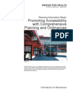 Promoting Accessibility Through Comprehensive Planning and Ordinances - DfH USA - 2007
