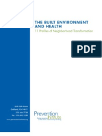 Built Environment and Health 11 Case Studies - PI USA - 2004