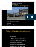 Defining Mixed Use Development - DCAUL USA - 2003