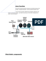 Pitot Static System
