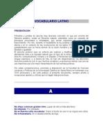Vocabulario Juridico Latino
