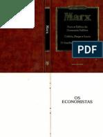 Marx Para a Critica Da Economia Politica
