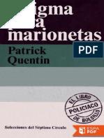 00 - Patrick Quentin - Enigma Para Marionetas