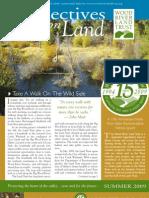 Summer Newsletter 2009