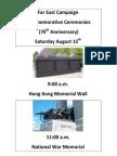 70th Anniversary Far East Campaign