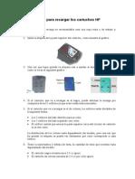 Manual Recarga Cartuhos HP