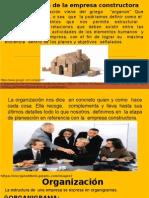 Organización de La Empresa Constructora - Manuel Herrera, Alexander Quiñonez