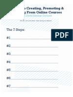7 Steps Worksheet
