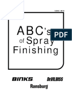 ABC's of Spray Painting, Devilbiss