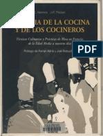 Historia de La Cocina y de Los Cocineros