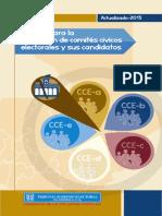 Manual Para La Inscripción de Comités Cívicos Electorales y Sus Candidatos -