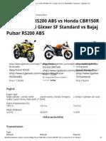rs200 150r sf