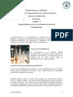 UNIDAD 3-TERMODINÁMICA DE LOS SISTEMAS BIOLÓGICOS