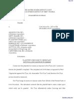 Curran v. Amazon.Com, Inc., et al - Document No. 63