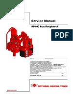 Iron Roughneck ST-100 Service Manual