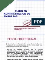 El Licenciado en Admin is Trac Ion de Empresas