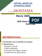 EXPOSICIÓN HEMOSTASIA