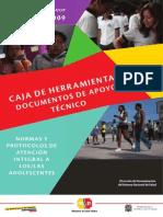 Caja de Herramientas de Las Normas y Protocolos de Atención Integral a Adolescentes