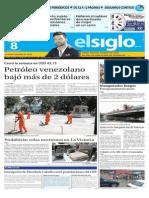 Ediciòn Impresa El Siglo 08-08-2015