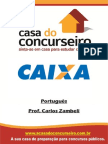 Apostila CEF Português