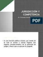 3.Jurisdicción y Competencia