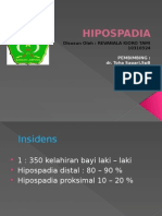Hipospadia Power Point