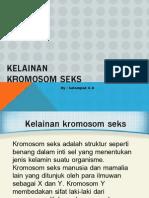 Tutorial 6A Kelainan Kromosom Seks