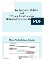 Gsm and Lte Network Architecture