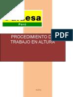 Procedimeinto de Trabajos en Altura_2015