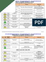 narayana schedule