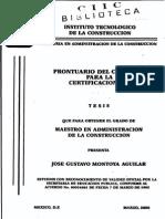 Tesis - Prontuario Del Concreto Para La Certificacion ACI