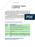 Tombol Pintas MS Office Word