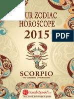 SCORPIO - Your Zodiac Horoscope 2015