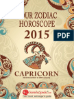CAPRICORN - Your Zodiac Horoscope 2015