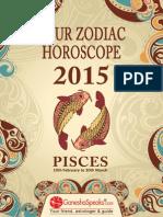 PISCES - Your Zodiac Horoscope 2015