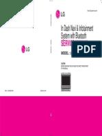 Manual de Servicio LG LAN-9600R
