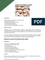 Biscoitinhos de Pistache e Limão