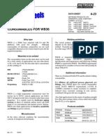 A-23 WB36 Rev 03 15NiCuMoNb5 Microstructure