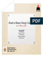 Death at Massey Energy Company v6