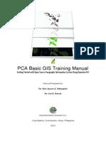 Pca Gis Manual 2013